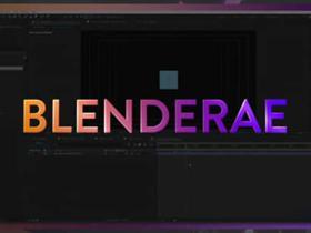 Blender与Ae导入桥接插件 BlenderAE v1.0.0 + 使用教程