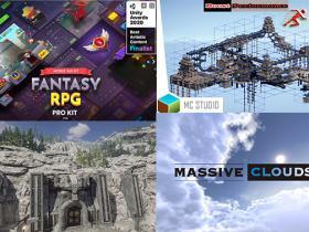 Unity游戏资源素材2021年8月份更新合集