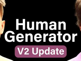 Blender人体模型生成插件 Human Generator V2.0