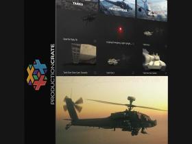104组飞机坦克警报灯真实动画高清视频素材