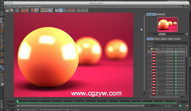 C4D教程 Vray渲染器动画全面培训视频附工程文件 Envy C4D VRay Animation From the Ground Up