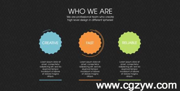 AE模板-设计机构信息图展示模版Design Agency Infographics