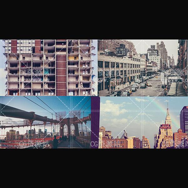 24个城市文艺复古调色Luts(FCPX/达芬奇/AE/Premiere/PS)