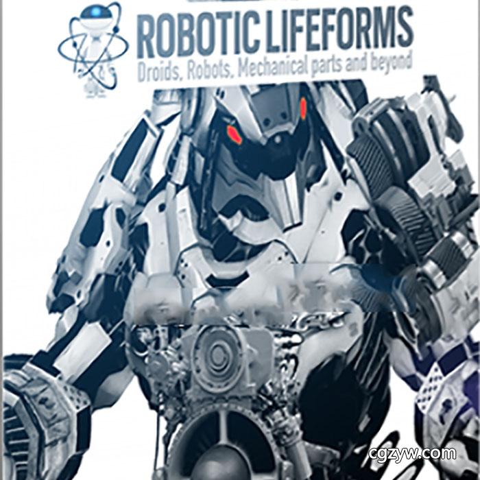 音效素材-未来科幻高科技机器人变形机械有机生命体