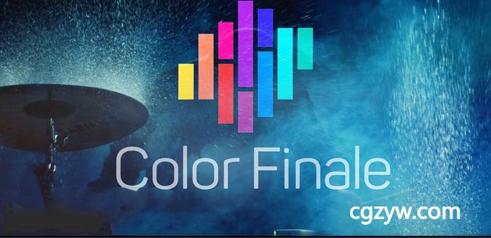 FCPX插件-专业颜色分级调色插件Color Finale Pro 1.8.2支持LUT