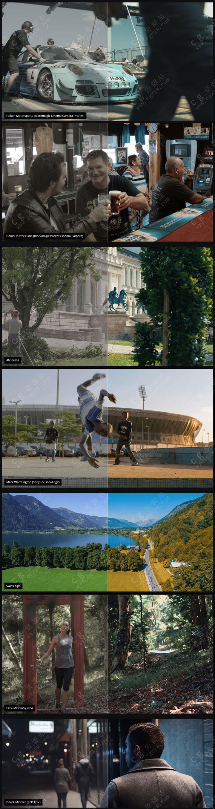 330个好莱坞电影MV宣传片LUTS视频调色预设FCPX/达芬奇/AE/Pr