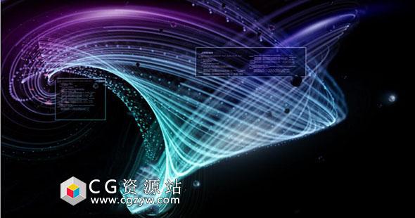 AE插件-超强节点式3D星尘粒子插件特效+使用教程WinMac版破解版