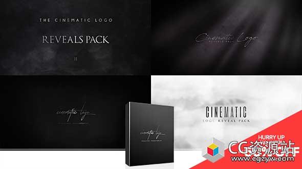 AE模板-大气烟雾电影史诗标志演绎 Logo 片头动画Cinematic Logo Reveals Pack免费下载