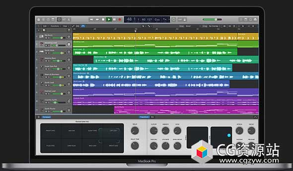 Apple Logic Pro X 10.5.0 苹果专业音乐制作软件Mac中文/英文