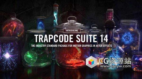 红巨星粒子套装AE插件 Red Giant Trapcode Suite 14.1.1 Win/Mac
