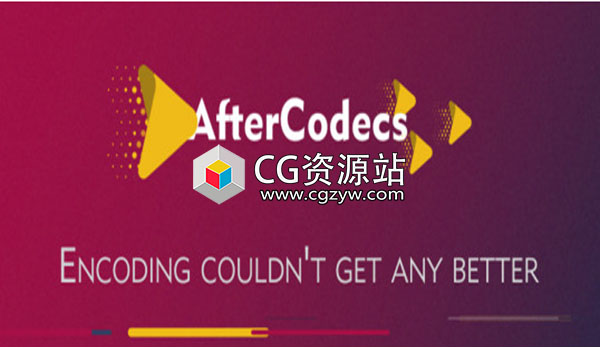 AE/PR视频渲染输出MP4 H264插件 AfterCodecs 1.3.4 +使用教程