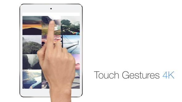 AE模板-4K分辨率手势触摸屏幕手指点击滑动动画V2.1