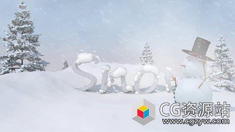 三维短片雪人制作流程C4D教程 Udemy – Create 3D short animation using Cinema 4D R18