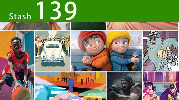 2020年 Stash139期CG创意电视栏目包装参考广告视频动画短片合集