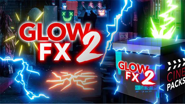 122个4K卡通爆炸电力表情符号灯泡气泡发光FX视频素材